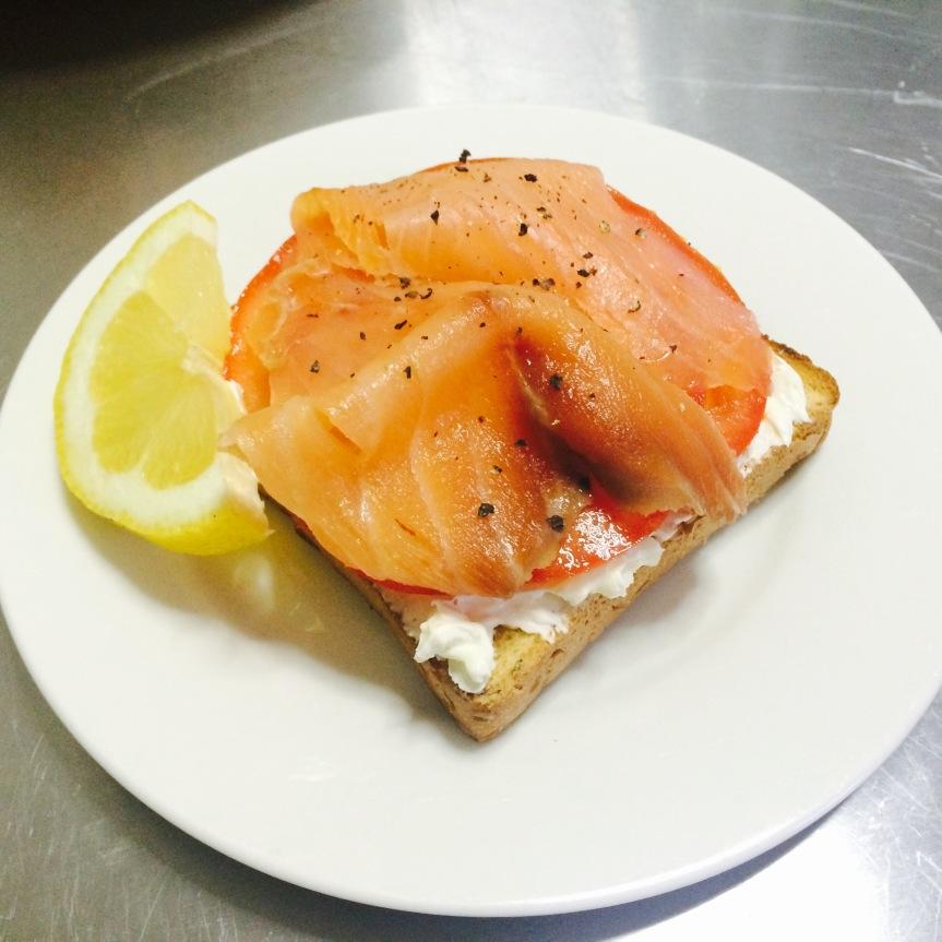 Tomato & Salmon