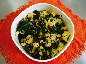 Roasted Cauliflower Salad 2