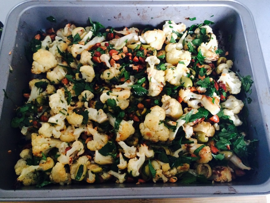 Roasted Cauliflower Salad 4